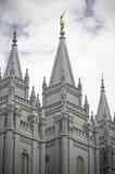 Tempiale mormonico a Salt Lake City, Utah Fotografie Stock Libere da Diritti