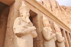 Tempiale mortuario della regina Hatshepsut Fotografia Stock Libera da Diritti