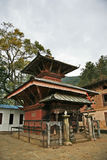 Tempiale narayan di Ichangu Fotografia Stock