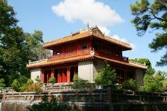Tempiale nel Vietnam Immagine Stock