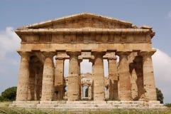 Tempiale, Paestum Fotografia Stock