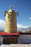 Tempiale principale nel Tibet Immagini Stock Libere da Diritti