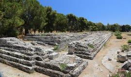 Tempiale romano Immagini Stock