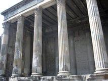 Tempiale romano a Pompei Fotografia Stock