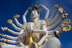 Tempiale Samui di Wat Plai Laem Fotografia Stock
