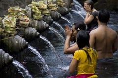 Tempiale santo della sorgente Fotografia Stock Libera da Diritti