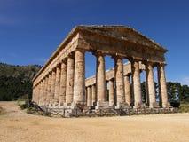 Tempiale a Segesta Immagini Stock