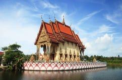 Tempiale sulla Tailandia Immagini Stock