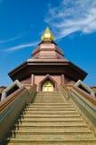 Tempiale tailandese, ad est della Tailandia Immagini Stock