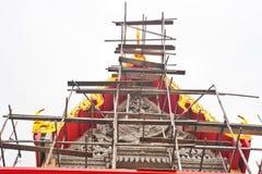 Tempiale tailandese antico Fotografie Stock Libere da Diritti