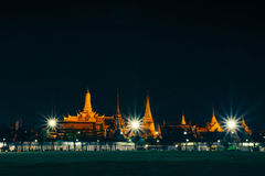 Tempiale tailandese a Bangkok Immagini Stock