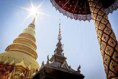 Tempiale tailandese di Lanna Immagini Stock Libere da Diritti