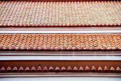 Tempiale tailandese di stile Immagine Stock
