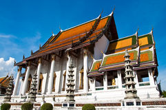Tempiale tailandese di Wat Suthat Fotografia Stock