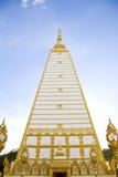 Tempiale tailandese, Wat Prathatnongbua Immagine Stock Libera da Diritti