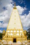 Tempiale tailandese, Wat Prathatnongbua Fotografia Stock