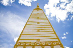 Tempiale tailandese, Wat Prathatnongbua Fotografie Stock