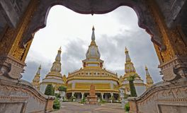 Tempiale in Tailandia Immagine Stock Libera da Diritti
