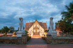 Tempiale in Tailandia Fotografie Stock