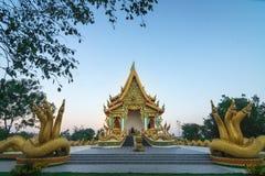 Tempiale in Tailandia Fotografie Stock Libere da Diritti