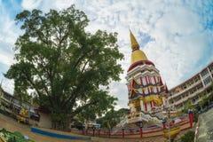 Tempiale in Tailandia del sud Fotografia Stock