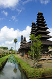 Tempiale Taman Ayun su Bali Immagini Stock Libere da Diritti
