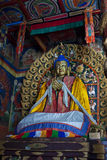 Tempiale tibetano Fotografie Stock