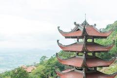Tempiale tradizionale del pagoda Fotografia Stock