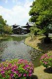Tempiale in Uji, Giappone di Byodoin Fotografie Stock Libere da Diritti