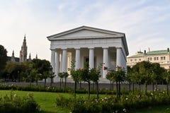 Tempiale a Vienna centrale Fotografia Stock