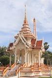 Tempiale Wat Chalong a Phuket immagini stock