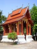 Tempiale Wat Nong Sikhunmeuang, Luang Prabang fotografia stock libera da diritti