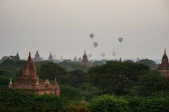Tempie antiche in Bagan, Myanmar Fotografia Stock