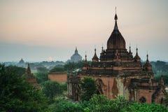 Tempie antiche in Bagan, Myanmar Fotografia Stock Libera da Diritti