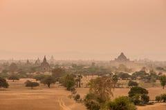 Tempie antiche in Bagan Myanmar Immagine Stock