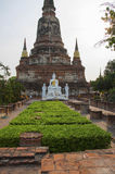 Tempie Ayuthaya Tailandia Fotografie Stock Libere da Diritti