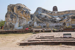 Tempie Ayuthaya Tailandia Fotografia Stock