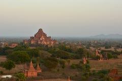 Tempie in Bagan Fotografia Stock Libera da Diritti