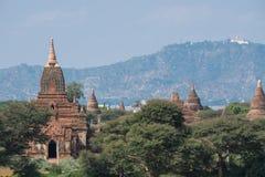 Tempie in Bagan, Myanmar fotografia stock
