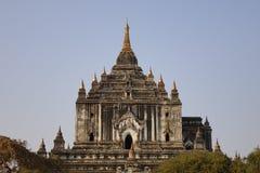 Tempie buddisti in Bagan, Myanmar immagini stock