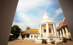 Tempie buddisti a Bangkok, Tailandia immagine stock libera da diritti
