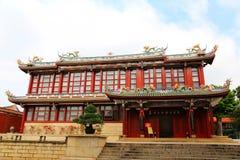 Tempie buddisti tradizionali cinesi, tempio di Kaiyuan Fotografia Stock