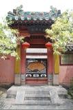 Tempie cinesi sul supporto tai Fotografia Stock
