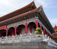 Tempie cinesi in Tailandia Immagine Stock Libera da Diritti