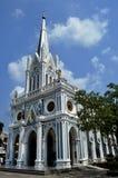 Tempie cristiane a Ayutthaya Fotografie Stock Libere da Diritti