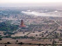 Tempie del Myanmar di estate fotografie stock