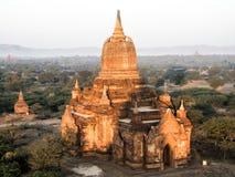 Tempie del Myanmar di estate fotografia stock