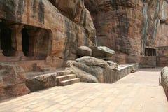 Tempie della roccia Fotografia Stock