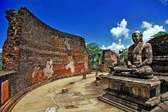 Tempie della Sri Lanka Fotografia Stock