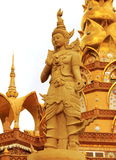 Tempie della Tailandia Fotografie Stock Libere da Diritti